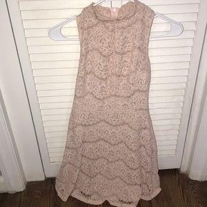 Light pink dress!